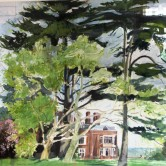Study for Munden House Mural, Watford, UK