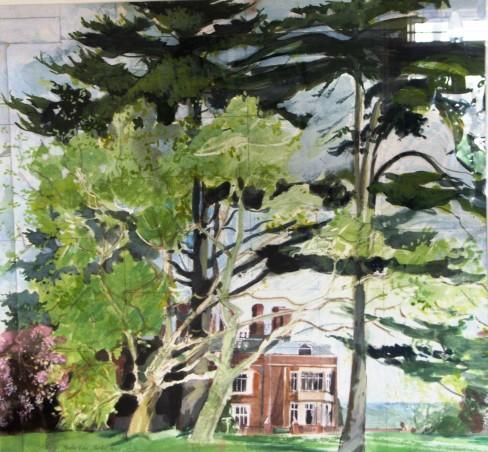 Study for Munden House Mural, Watford, UK