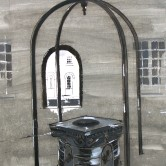 Design for Central Feature (Wellhead and Arch) Cayzer Courtyard, Lees Court Mansion, Kent