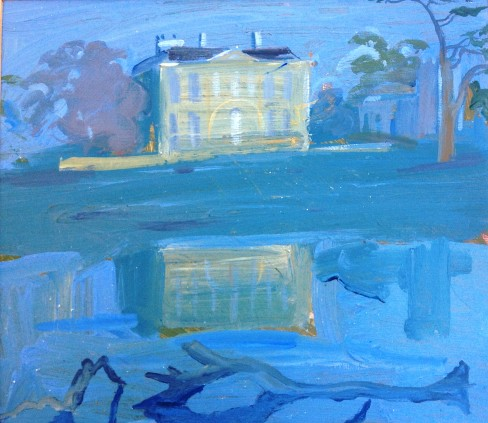 Claydon House Pale Blue Lake