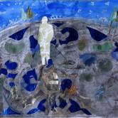 Figures in landscape