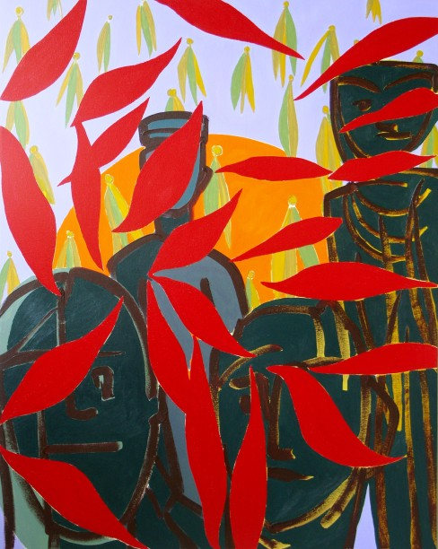 As The Leaves And Seeds Fall Priority Should Be Given To Watching The Sun Rise. Private collection.