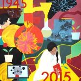 KENT SCIENCE PARK PAINTING 2, 1945-2015. Collection Kent Science Park, Sittingbourne, Kent, UK