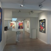 Great review of CHOICE EMBLEMS solo show at Lacey Contemporary in The Upcoming